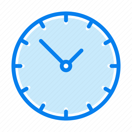 contact, timer, watch icon
