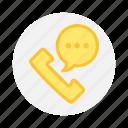 call, mobile, phone, talk icon icon