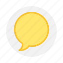 chat, comment, message, messenger icon icon