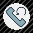 arrow, call, phone, telephone icon icon