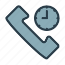 call center time, call time, call time icon, cell, phone, support, telephone icon