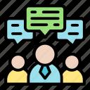 discuss, contact us, group, conversation, team