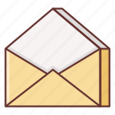 contact, email, envelope, letter, mail, message, read