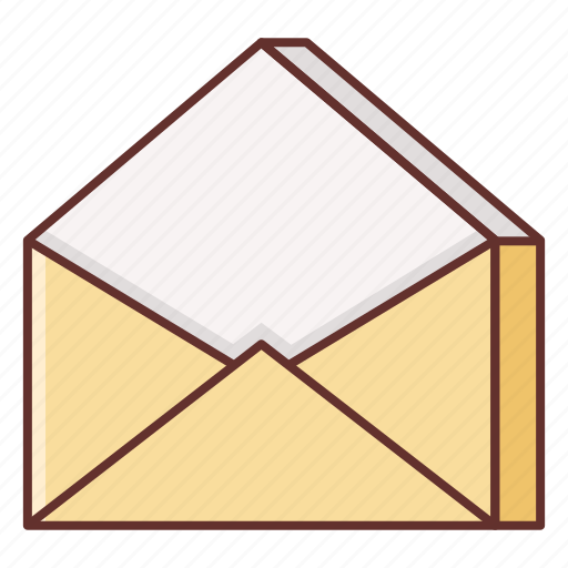 contact, email, envelope, letter, mail, message, read icon