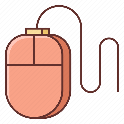 computer mouse, mouse, pc mouse icon