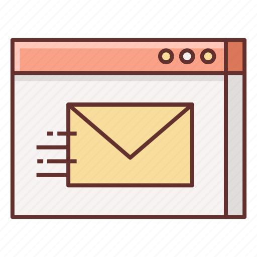 contact, mail, send, send mail icon