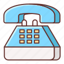 hotline, landline, phone, telephone icon