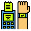 contactless, payment, shopping, smartwatch, wifi