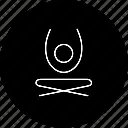 contemporary yoga, modern yoga, yoga, yoga pose, yoga position icon
