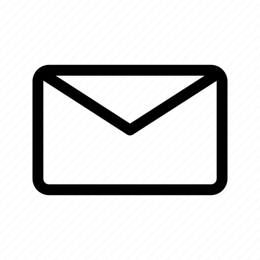 email, envelope, inbox, mail, message, ui, unread icon