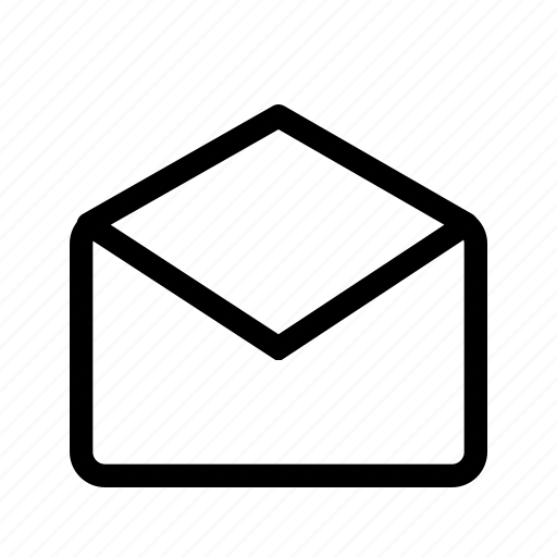 email, envelope, mail, message, open, read, ui icon