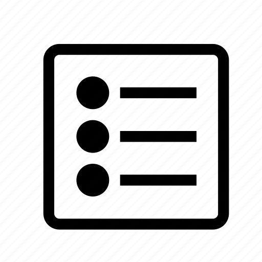checklist, file, list, text, type, ui icon