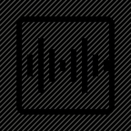audio, media, music, sound, speaker, ui icon