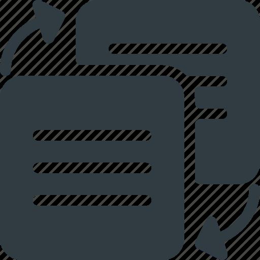 content, filder, refresh, sharie, sync, synchronize icon