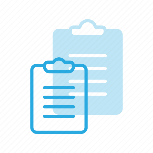 clipboard, content, copywriting, office icon