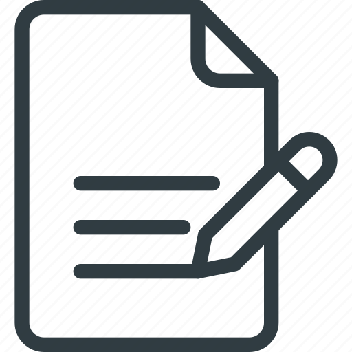 content, copywriting, document, file, write icon