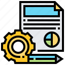 content, document, file, management, setup icon