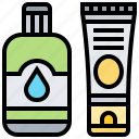 cream, lotion, product, protection, treatment icon