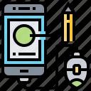 click, content, mobile, online, smartphone