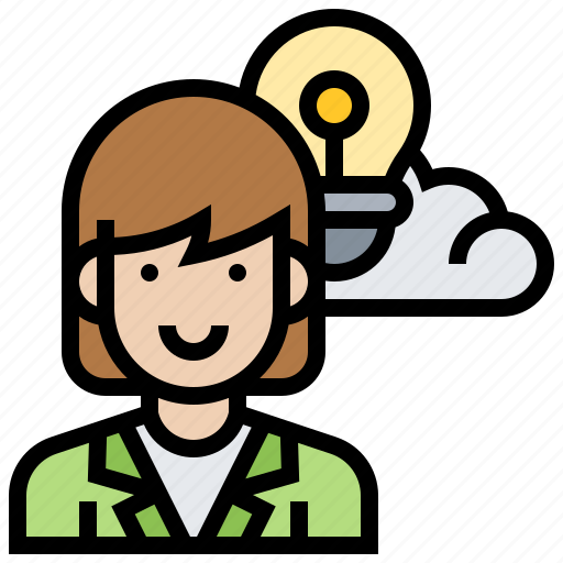Creative, idea, solution, thinking, thought icon - Download on Iconfinder