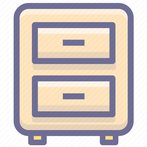 archives, cupboard, documents icon
