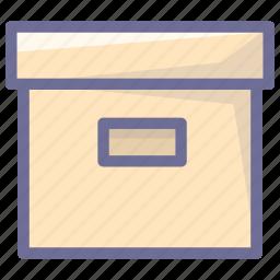 archive, box, storage icon