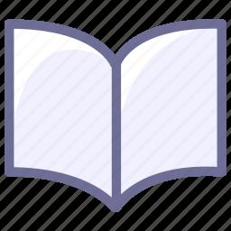 book, knowledge, reading, tutorial icon