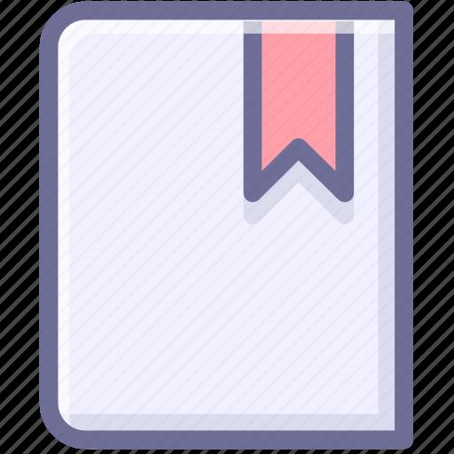 book, bookmark, favorites icon