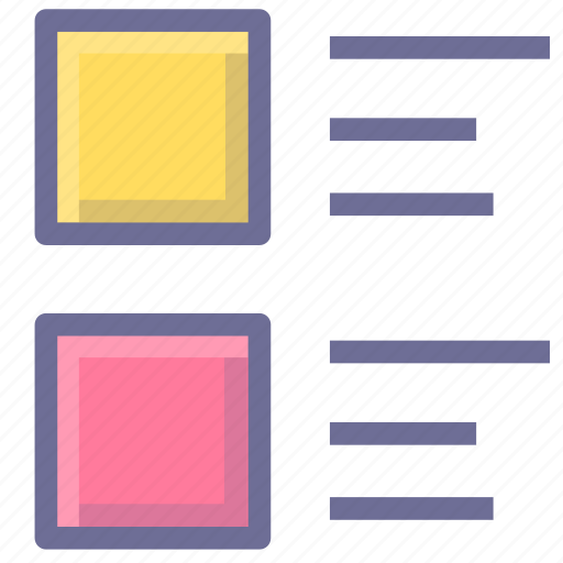 catalog, content, directory, list icon