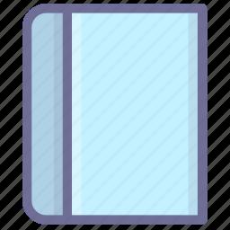 book, datas, knowledge icon