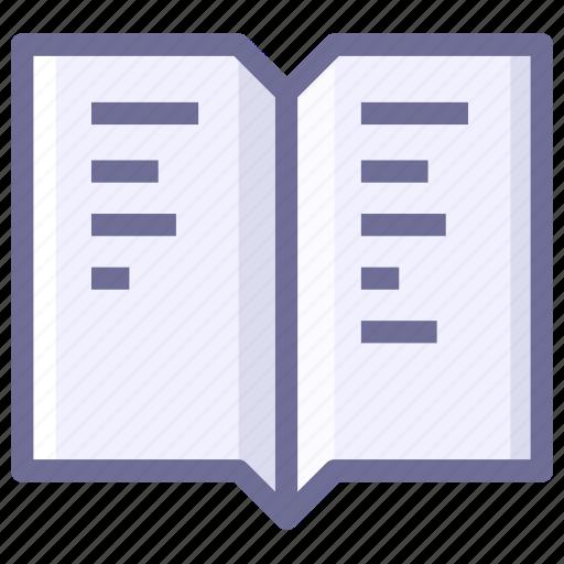 book, bookmark, knowledge, reading icon