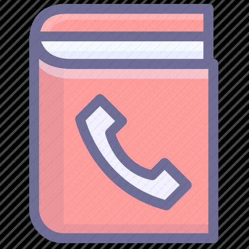 contact, contact book, phone book icon