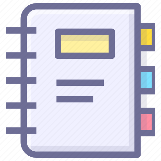 bookmark, catalog, catalogue, contents, directory, list, table of contents icon