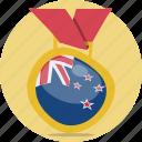 award, medal, new, zealand