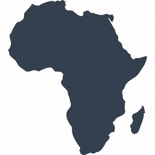 africa, african, continent, geography, location, map, world icon