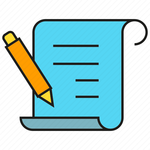 agreement, contract, document, paper, pen, sign, writing icon