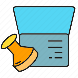 agreement, approve, contract, paper, pass, passport, stamp icon