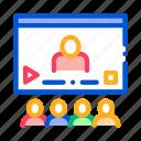 contract, media, presentation, video