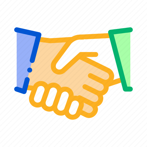 Contract, document, elements, handshake icon - Download on Iconfinder
