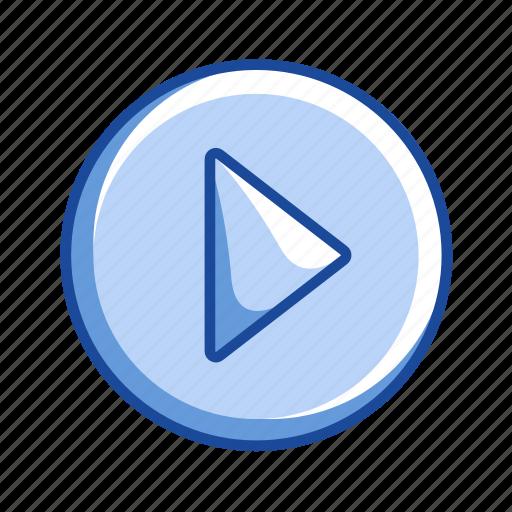 arrow, next button, pointer, remote button icon