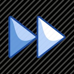 forward, next button, remote, skip icon