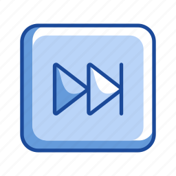 arrow, forward, next button, remote icon