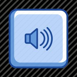 audio, full volume, music, speaker icon
