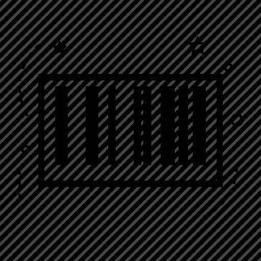 barcode, configuration, control, multimedia, music, preferences, setting icon