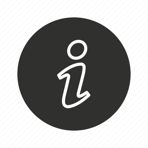 alphabet, data, info, information icon