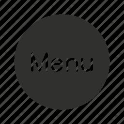 menu, menu tool, remote, restaurant icon