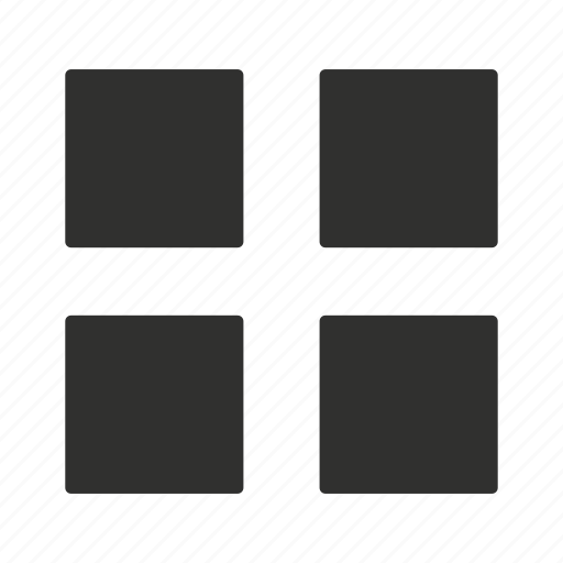 home button, menu, squares, windows icon