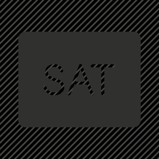 device, sat, satellite button, technology icon