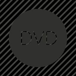 digital video disc, disc, dvd, dvd player icon