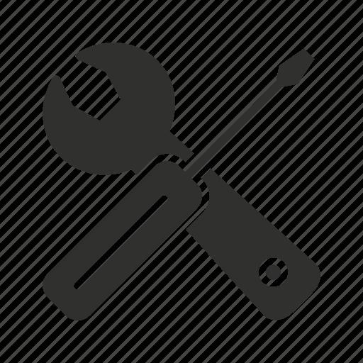 plies, screw driver, setting button, tools icon